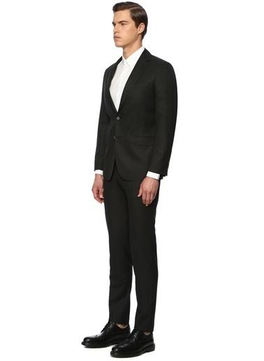 George Hogg George Hogg 7004159 Slim Fit Siyah Takım Elbise Erkek Takım Elbise Siyah